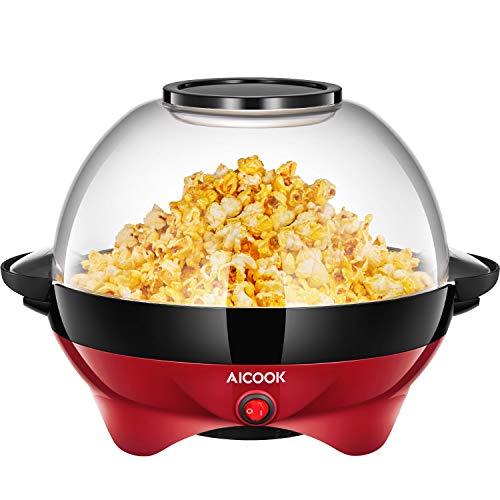 Aicook Machine à Popcorn, Électr...