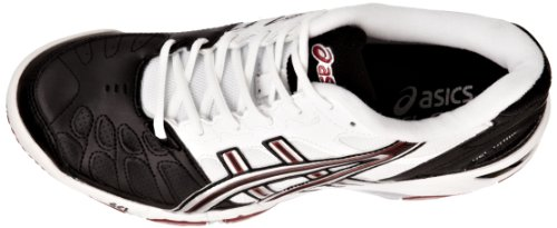Asics Gel Game 3, Scarpe Sportive-Tennis Uomo Nero (Black/Lightning/Lipstick Red)