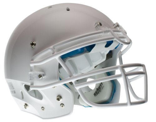 Schutt Youth Recruit Hybrid Football Helm ohne Rothko and Frost Deckenschoner, weiß