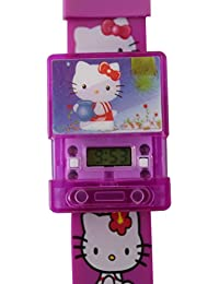 CREATOR ( R-TM ) New Musical Hello Kitty Kids Watches For - Boys & Girls ( Random Color Will Be Sent )