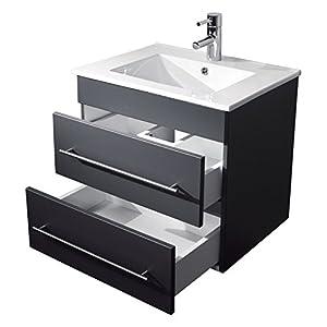 Waschbeckenunterschrank hängend  Waschbeckenunterschrank Hängend 60 Cm Breit | Deine-Wohnideen.de
