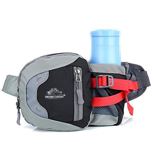 Sport Outdoor Wasser Flasche Taschen Reisen Reise Fitness Running Bag Männer Und Frauen Portable Portable Supplies Black