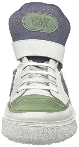Candice Cooper Cc0300.used, Baskets hautes homme Multicolore - Mehrfarbig (verde-blu)