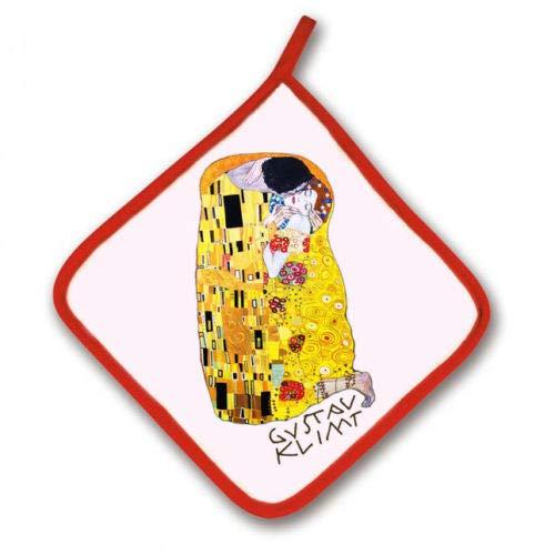 Presina da forno Arte quadro dettaglio Il Bacio di Klimt! Iidea regalo divertente, decorazione da cucina!