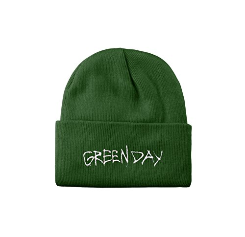 Green Day Mütze Beanie Revoultion Radio Band Logo Nue offiziell Green Day-logo-beanie