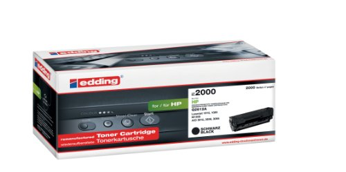 Preisvergleich Produktbild edding 18-2000 Tonerkartusche EDD-2000,  Ersetzt: HP Q2612A,  2000 Seiten,  schwarz