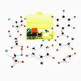 BoldGare (TM) Kit Mini Chimica Organica Modello molecolare piccolo tubo per studenti 143pcs / set modelli molecolari piccolo tubo portatile di trasporto libero