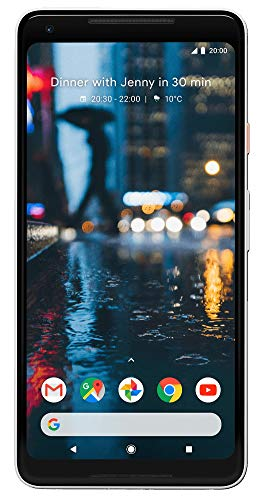 "Google Pixel 2 XL 6"" SIM singola 4G 4GB 64GB 3520mAh Nero, Bianco"