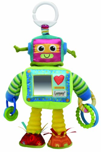Image of Lamaze Rusty the Robot Soft Toy