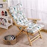 New day-Sedia a sdraio stampa cuscini sedia pieghevole sedie a sdraio sul balcone sedia divano sedia sedie pigri imbottite sedia cuscino del divano , 115x45cm
