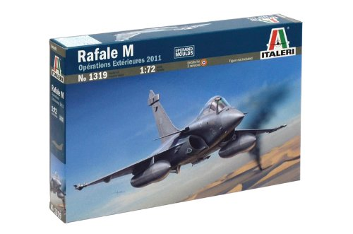 Italeri 510001319 - 1:72 Rafale M Externe Operationen 2011