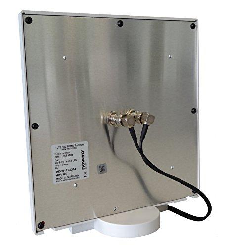 novero dabendorf Twin-Kabel für LTE-Antenne (5m)