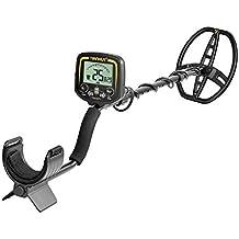 HOOMYA Detector de Metales de Alta sensibilidad Escáner de Profundidad de 2,5 m con