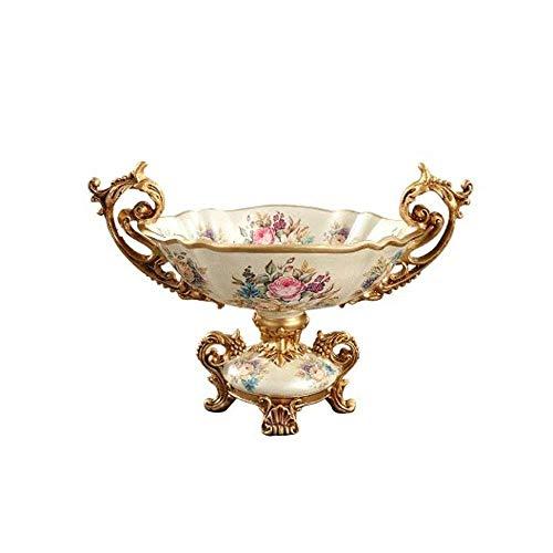 i Keramik Obstteller Retro Obst Tisch Couchtisch Handwerk Obst Platte ()