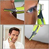 Moradiya Fresh Micro Touch Max All in One Personal Trimmer For Men with Liquid dispenser cleaning brush