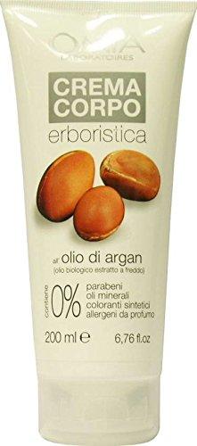 body cream with argan oil - 200 ml