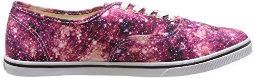 Vans U Authentic Lo Pro Cosmic, Baskets Basses Mixte Adulte Multicolore (Cosmic Cloud/Black/Coral)