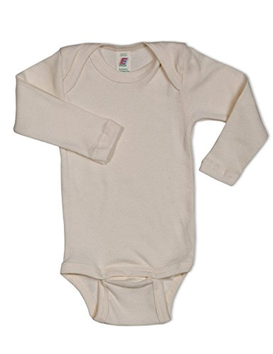 dac00e93b047d0 Engel Axil - Ángel naturtextilien 869010 cuerpo bio eco bebé de manga larga  algodón 98
