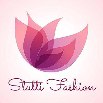 Stutti Fashion Women Faux Georgette Salwar Suit (SF02_Orange and black_Orange and black_Free Size) - Orange and black Top Length : 2.5 Mtrs , Bottom Length : 2.5 Mtrs , Dupatta Length : 2.25 Mtrs