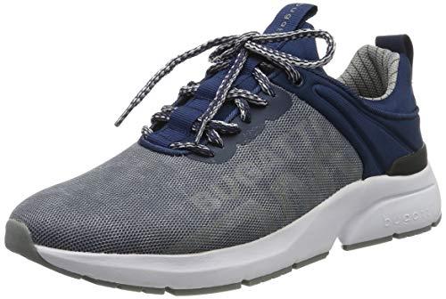 bugatti Herren 342747616900 Slip On Sneaker, Grau, 43 EU