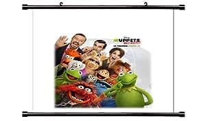 Muppets plus Wanted, Poster, Affiche (en tissu 32 x 32 cm)