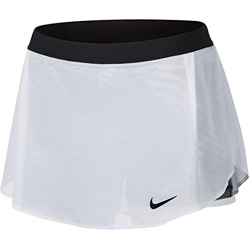 Nike Damen Court Skirt Women Röcke, weiß, XL Court Womens-rock