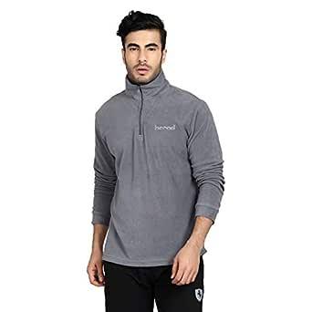 KOTTY Men's Full Sleeve Fleece Jacket