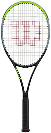 Wilson Unisex Adult 2-WR013611U4 Blade 98 16x 19v7.0 Tennis Frame - Black/Green/Grey, Grip 4