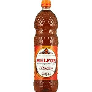 Melfor - Original, condiment pour vinaigrettes, salades, crudités, aromatisé au miel et à l'infusion de plantes, spécialité d'Alsace - La bouteille de 1L - (pour la quantité plus que 1 nous vous remboursons le port supplémentaire)