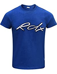 RDX T Shirt Manches Courtes Boxe Thai Sport Running D'entraînement Musculation Jogging