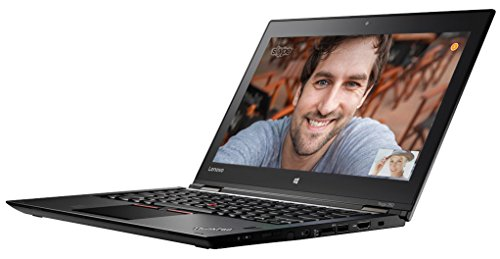 Lenovo ThinkPad YOGA 260 31,7 cm (12,5 Zoll) Laptop (Intel Core i5 6200U, 8GB RAM, 256GB SSD, Win 10 Pro) schwarz