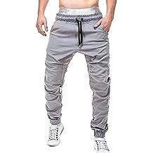 f3a4a48436921 Amazon.es  pantalones cagados niño - Gris