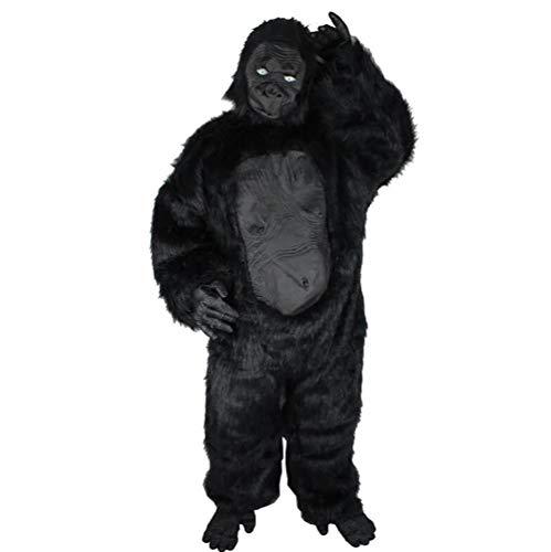 Ideen Familie Nette Kostüm Für - SHANGLY Halloween Weihnachten Schimpanse Cosplay Kleider Gorilla-Tier Lustige Anzieh Erwachsene Kostüm,A