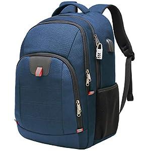 Laptop Rucksack Herren Anti-Diebstahl Rucksack für 17 zoll Laptop Schulrucksack Daypack Multifunktion Business Notebook…