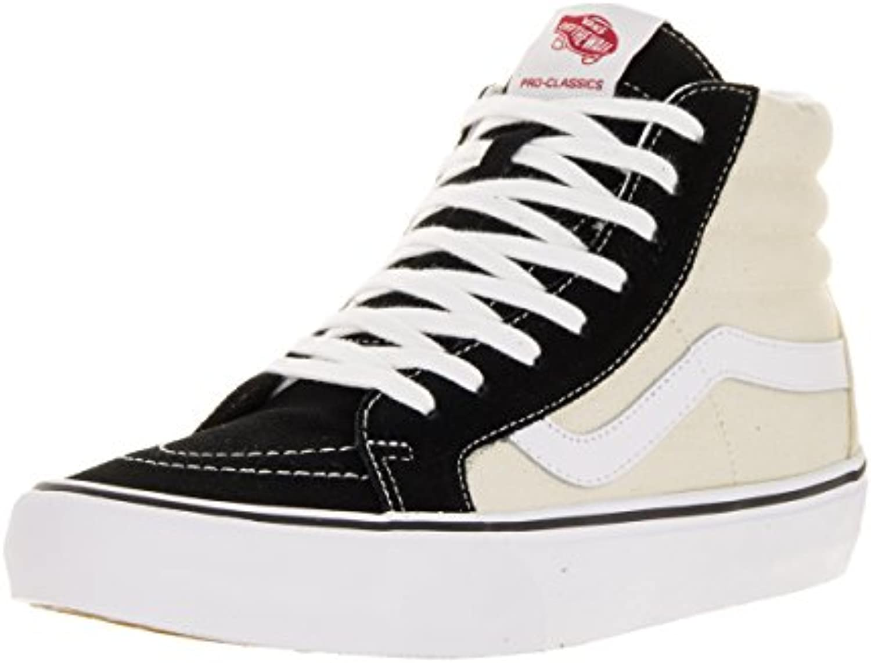 Vans - Zapatillas de skateboarding de Ante para hombre Negro negro  -