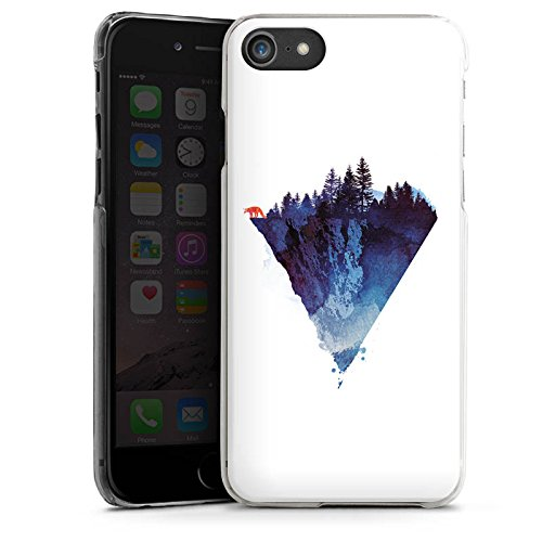 Apple iPhone X Silikon Hülle Case Schutzhülle Dreieck Natur Kunst Hard Case transparent