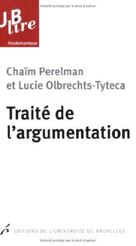 Traité de l'argumentation : La nouvelle rhétorique