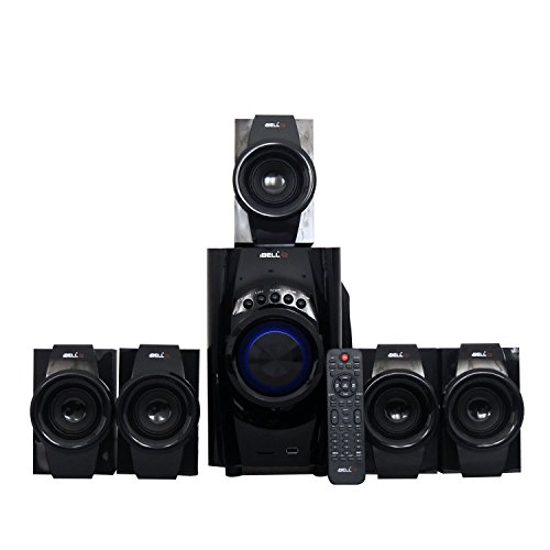 iBELL 5.1 Speaker with FM Stereo, Bluetooth, USB/SD/MMC/AUX Function
