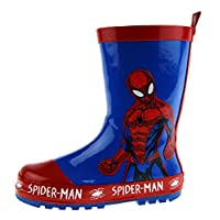 Marvel Spiderman Rubber Wellington Boots