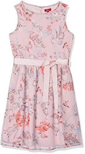 s.Oliver Mädchen Kleid 73.802.82.2795, Rosa (Light Pink Multicolored 41S5), 140 (Rosa Junior Kleider)