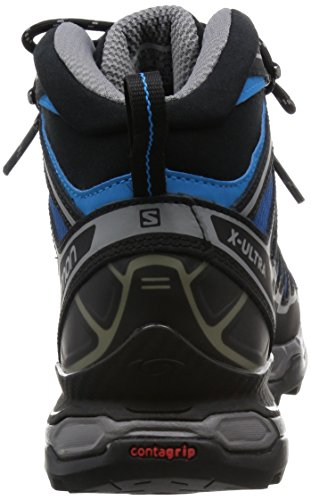 Salomon X Ultra Mid 2, Chaussures Bébé Marche Homme Multicolore (Gentiane/Black/Methyl Blue)
