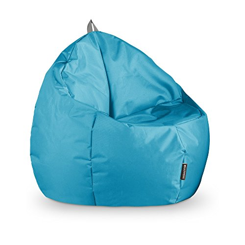 HAPPERS Puff Junior Naylim Impermeable Turquesa