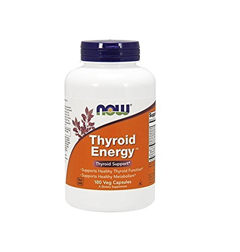 Now Foods Thyroid Energy Veg Capsules, 180 Count by Now Foods -