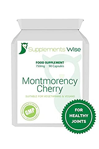 Montmorency Cherry Capsules | 90 x 750mg | High Strength,