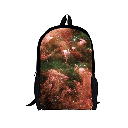 POLERO Kinder Basic Pattern Rucksack, Galaxy, One Size