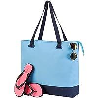 Shugon 4133-22 Bürmoos Wellness - Bolsa de ocio, color azul claro y azul marino