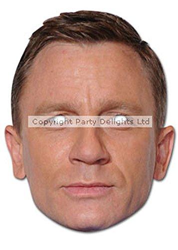 d Karte Gesichtsmaske (James Bond 007 Kostüme)