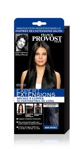 Franck Provost - Expert Extensions à Clipper Noir Intense 56 cm