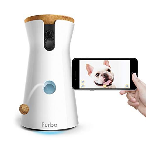 Produktbild bei Amazon - Furbo Hundekamera: Full HD WiFi Haustierkamera mit Leckerli Ausgabe, 2-Wege-Audio und Bell-Alarm (bekannt aus VOX hundkatzemaus)
