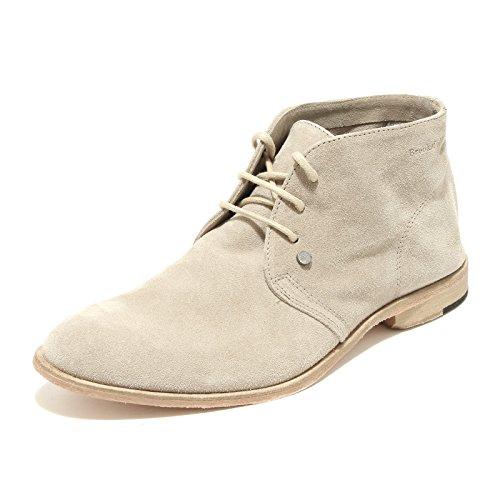 9910G polacchini uomo beige chiaro BROOKSFIELD scarpe polacchino shoes men [39]